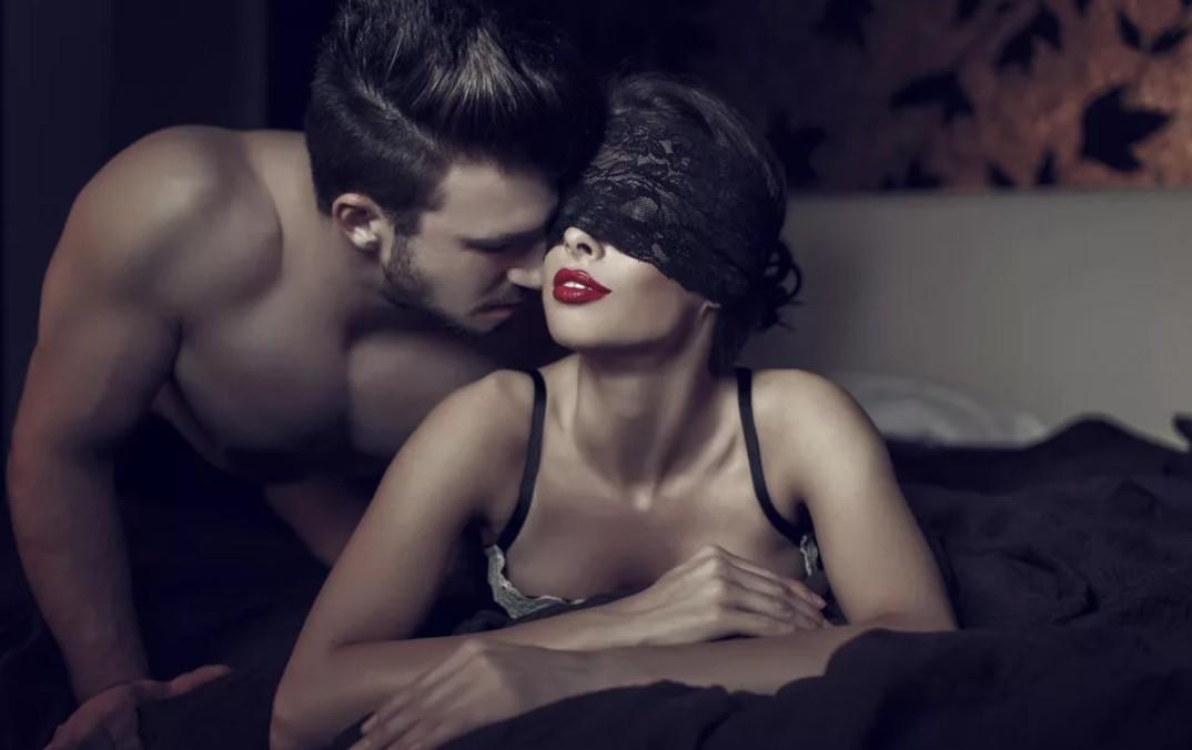 Страсть в постели с женой
