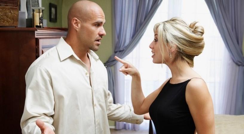 Жена угрожает разводом