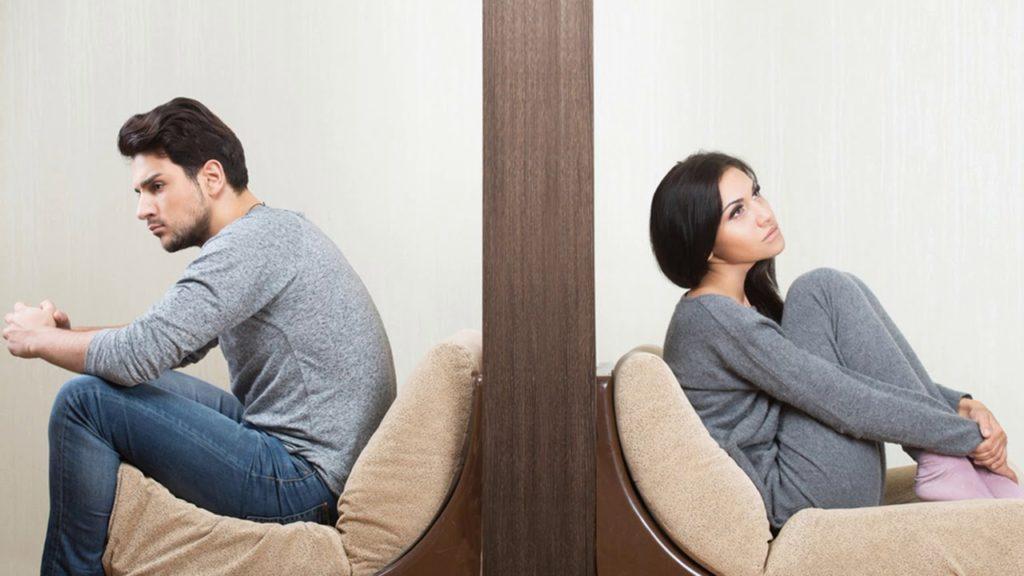 Муж и жена отдыхают друг от друга