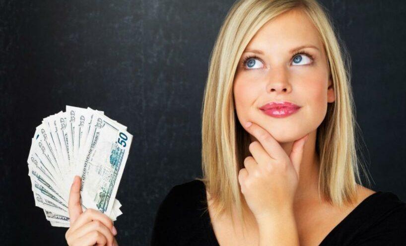 Меркантильная девушка, которой нужны от парня только деньги
