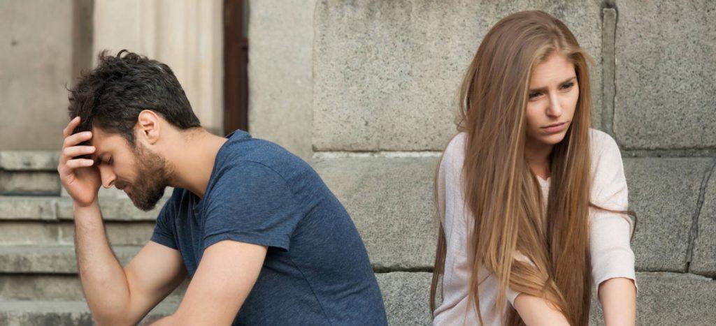 Девушка не отвечает взаимностью