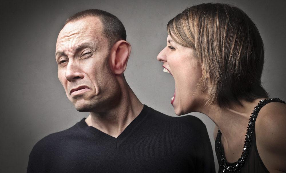 Агрессивная жена